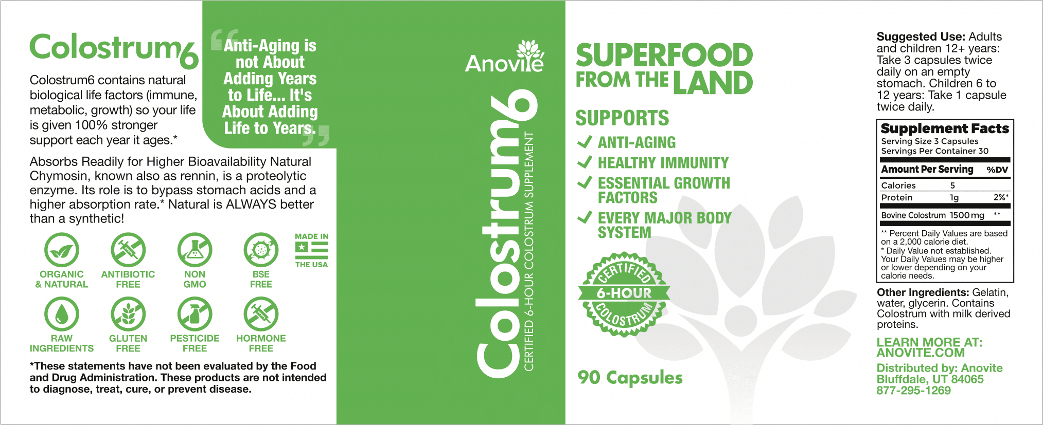 Anovite-Colostrum6-90Cap